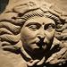 Relleu del cap de Medusa (s. IV d.C.), vil·la romana del Romeral, Museu de Lleida
