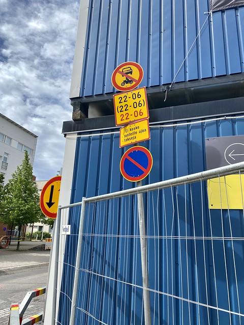 Oulun torialueen muuttuneet liikennejärjestelyt