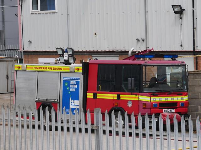 Ex-Humberside Fire & Rescue W892 XAT