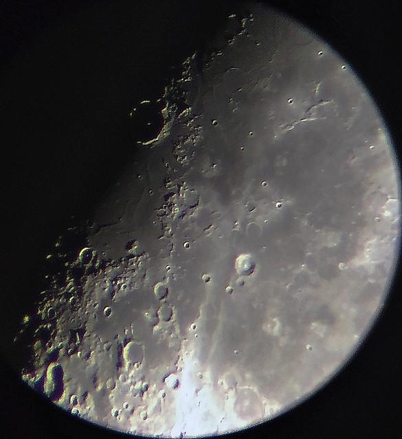 Moon Jun 20th 2021, sunrising over Mare Humorum and Gassendi