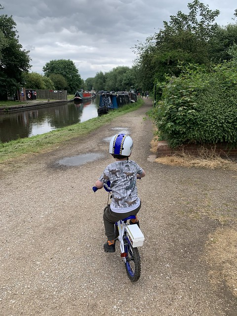 First ride without stabilisers