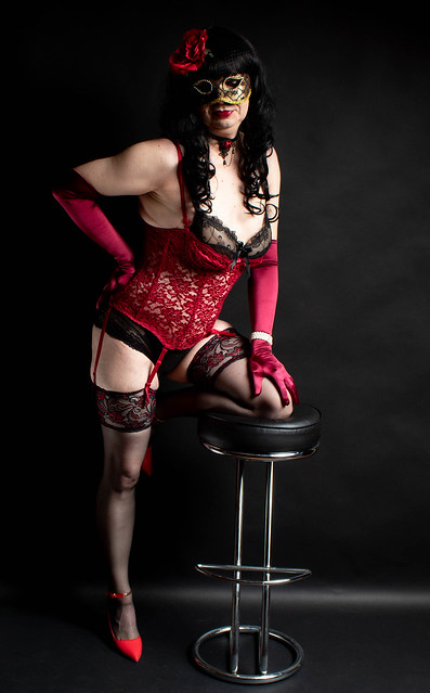 Red Lace Corset 35