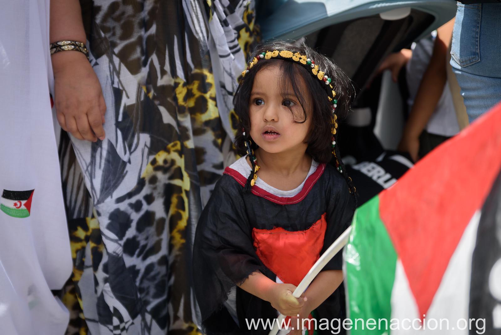"""FED. DE LA C.MADRID DE ASOCIACIONES SOLIDARIAS CON EL SAHARA  """"MARCHA POR LA LIBERTAD DEL PUEBLO SAHARAUI"""""""