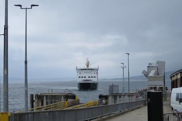 Bute approaching Wemyss Bay