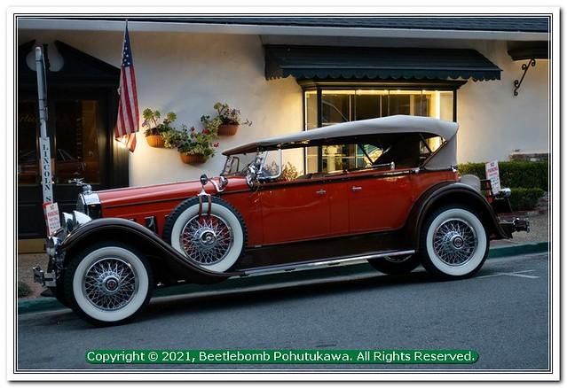 2018 Car Spotting, Carmel: Packard