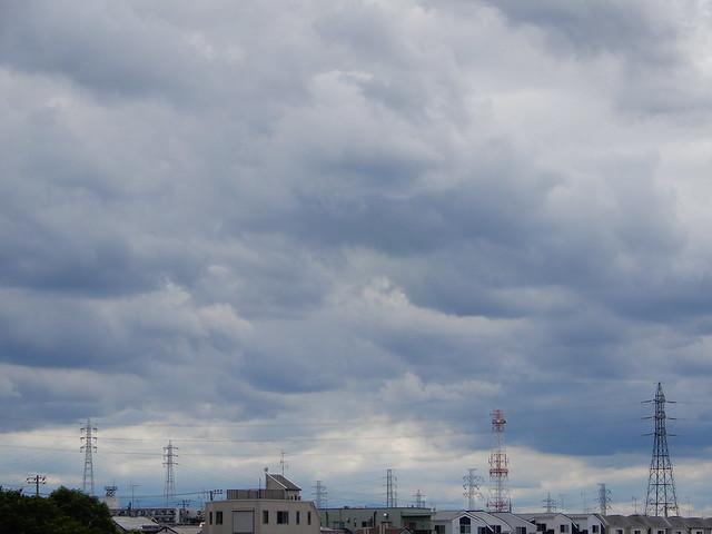鉄塔のある風景 2021.6.20