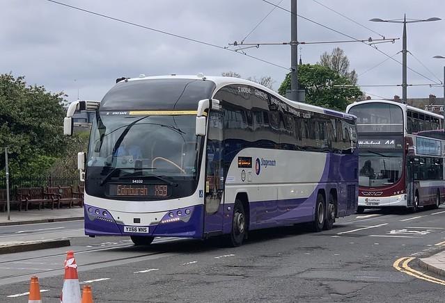 Stagecoach Fife 54332 YX66 WNS