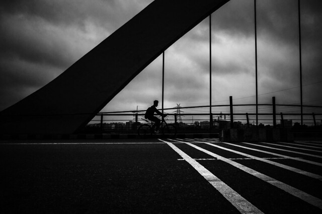 Monsoon Cyclist