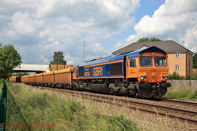 66734 at Melton Mowbray