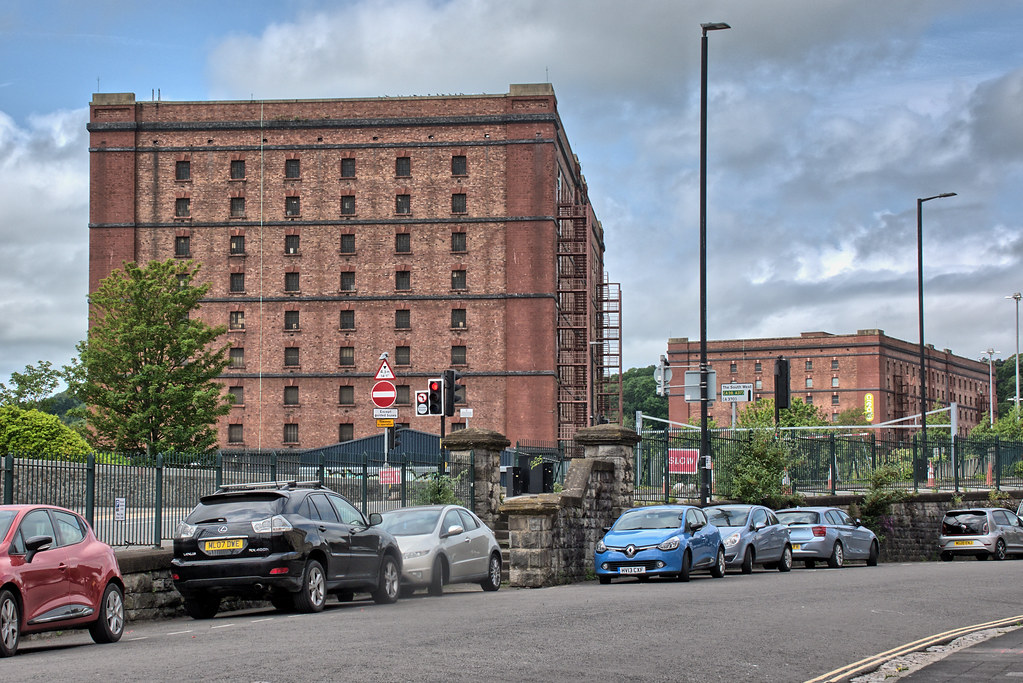 036 Smeaton Rd 'A Bond' 1905 & 'B Bond' 1908 WD & HO Wills Tobacco manufacturers warehouse