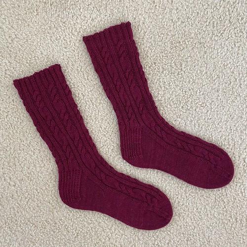 Sea Aggie Mom socks