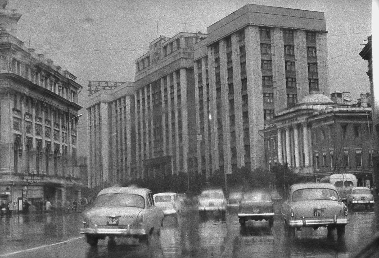 1960. Охотный ряд