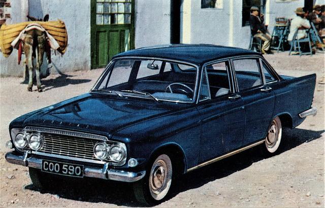 Ford Zodiac Mk. III, 1962