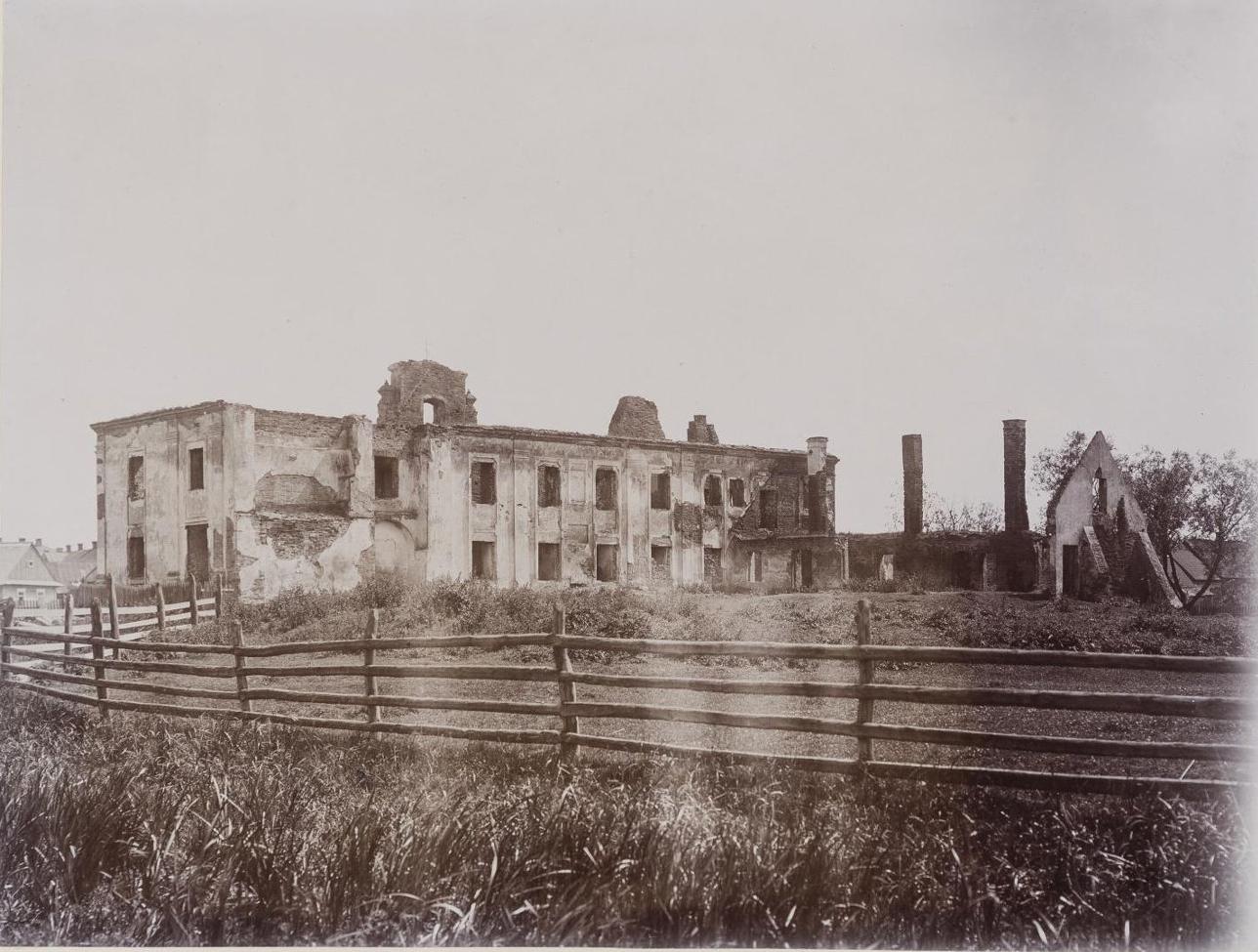 Здание бывшего Спасского монастыря.1911.