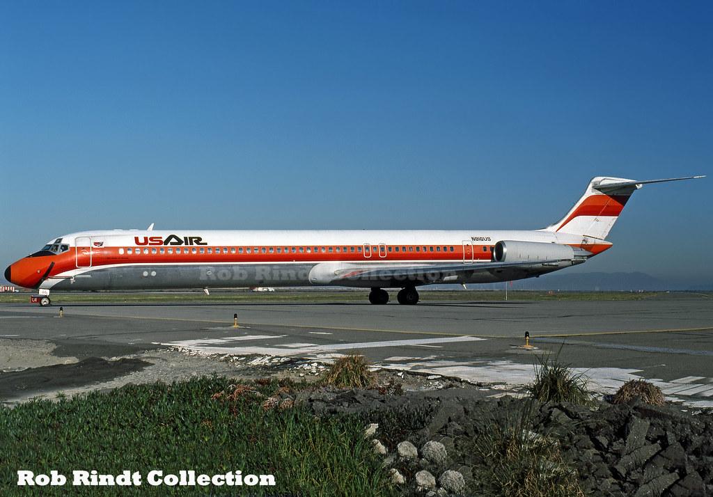 US Air MD-81 N816US