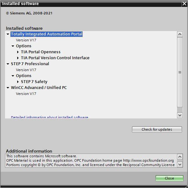SIMATIC S7-PLCSIM V17 win64 full license