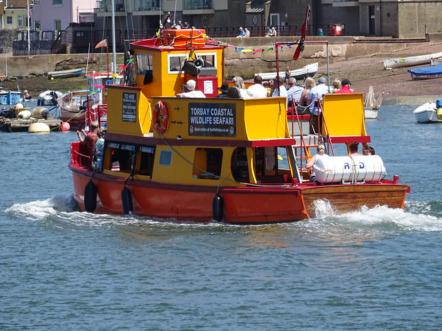 """The historic – """"Brixham Belle"""" –  ferry. Built in 1923 in Plymouth"""