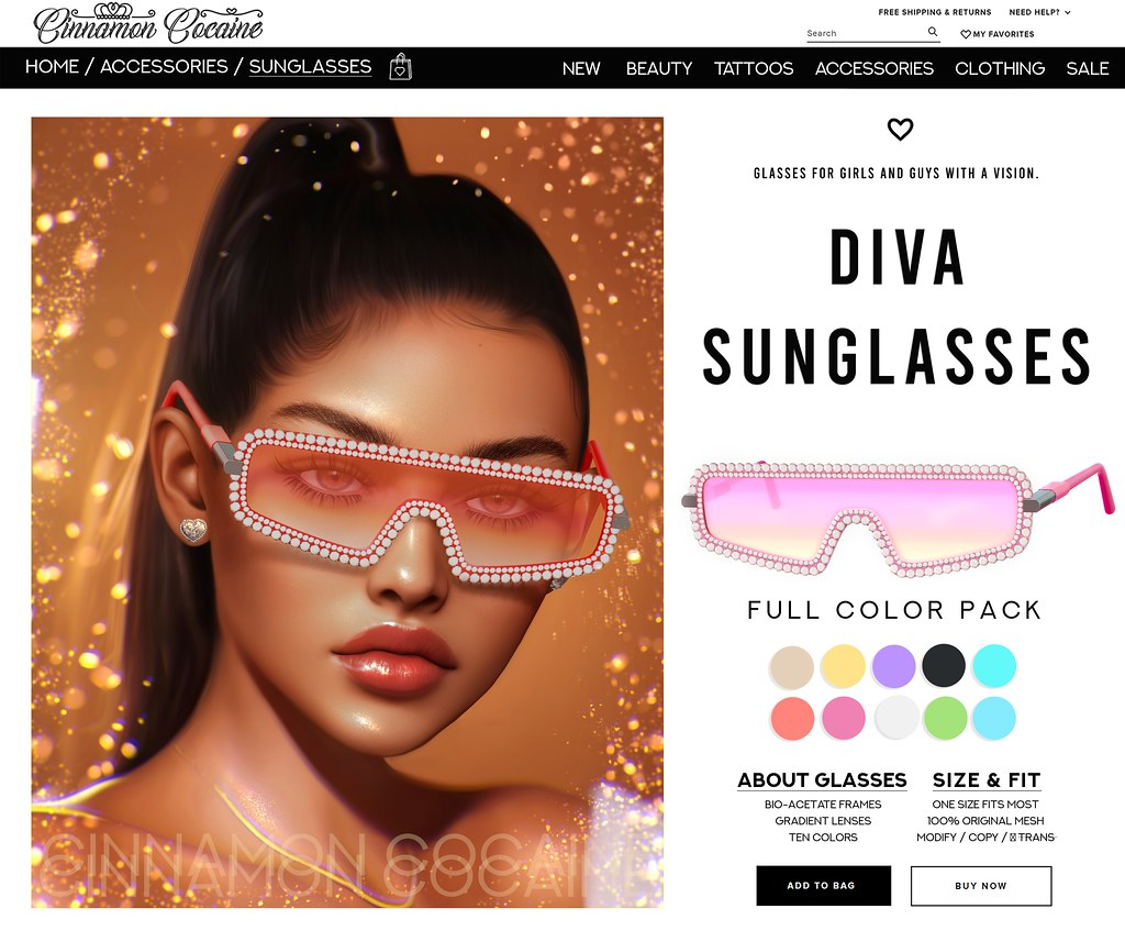 Diva Glasses Giveaway