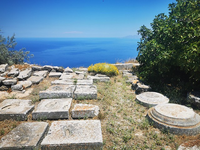 Ancient Thera, Santorini, Greece, June 2021 IMG_20210620_134745