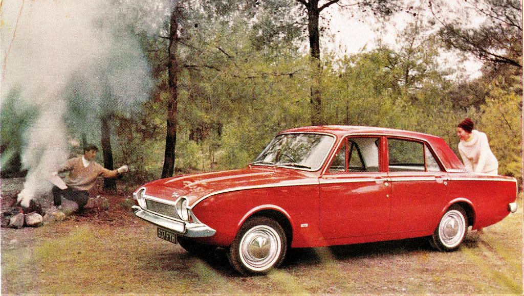 Ford Consul Corsair 4-Door Saloon, 1964