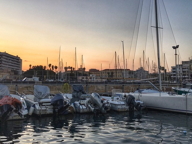 Ortigia sunset, Siracusa, Sicily