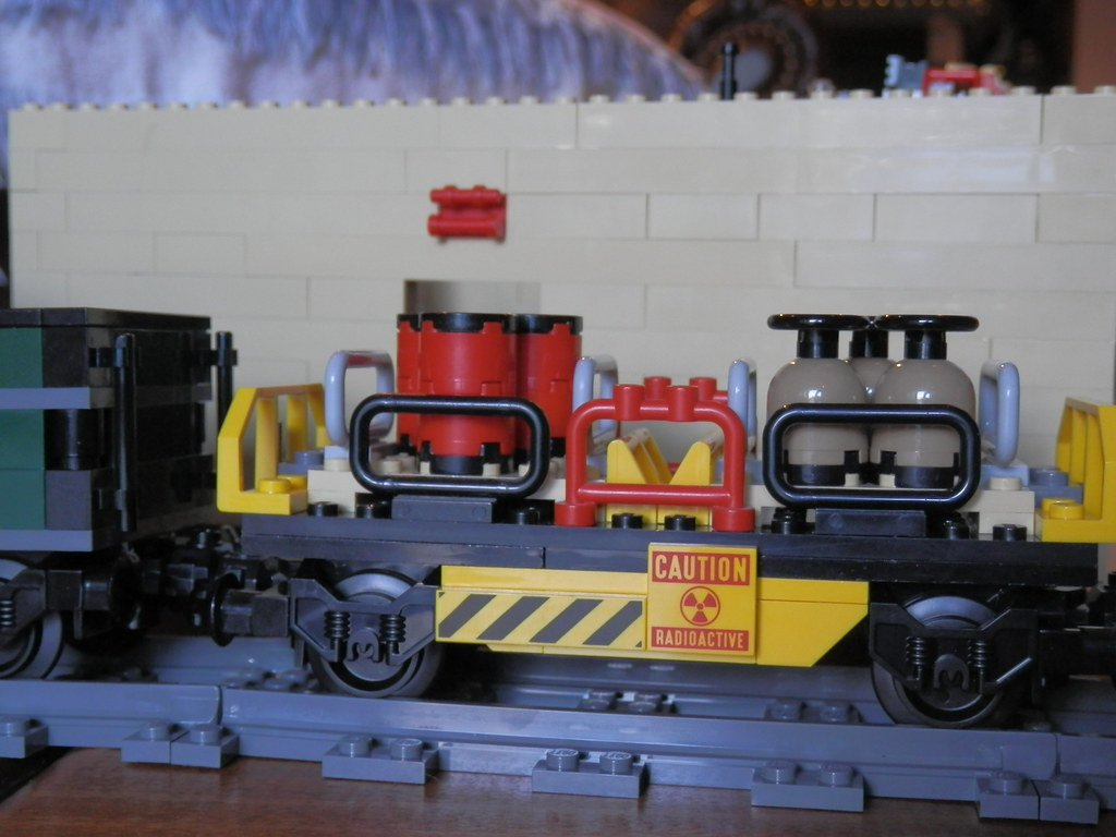 LEGO Disney Lone Ranger Constitution Train  chemical car