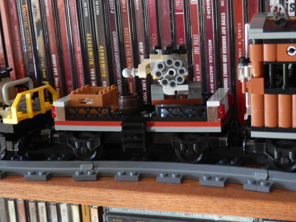 Lego 79111 Disney Lone Ranger Constitution Train Gattling Gun car