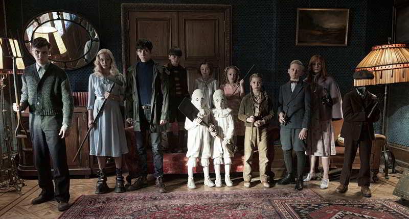 Miss Peregrine cast actors