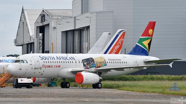 South African Airways 🇿🇦 Airbus A320-200 EI-GTO
