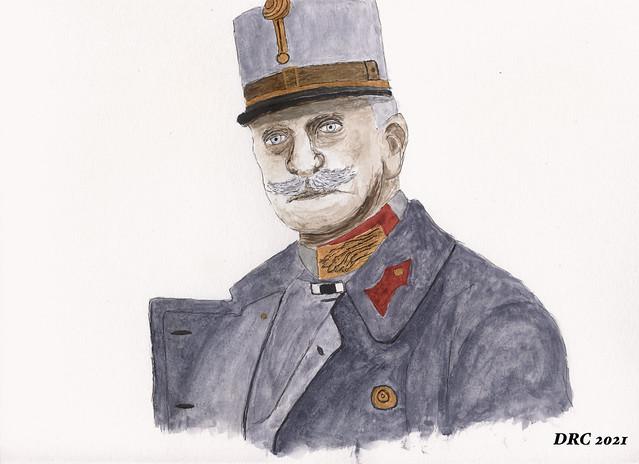 Watercolor - Conrad von Hotzendorf