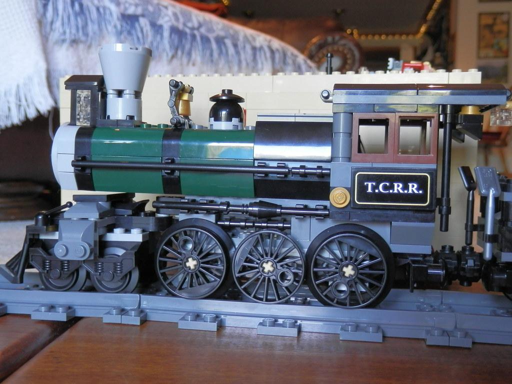 LEGO Disney Lone Ranger Constitution Train locomotive