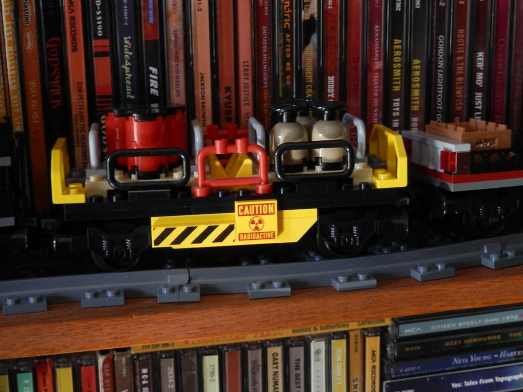 Lego 79111 Disney Lone Ranger Constitution Train chemical car