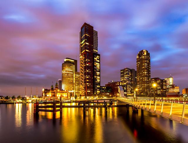 Skyline in The Netherlands