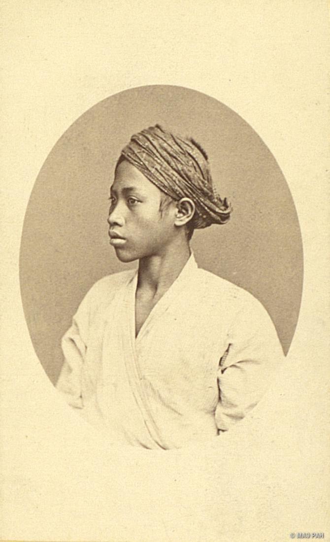 09. Портрет молодого человека. Ява