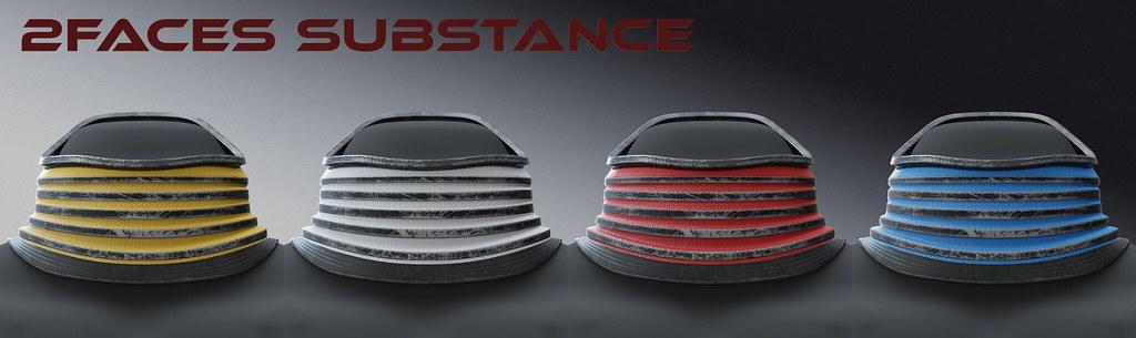 2faces substance – collar