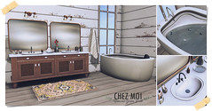 CHEZ MOI Sunrise Bathroom Set