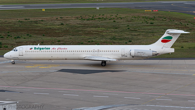 LZ-LDW Bulgarian Air Charter McDonnell Douglas MD-82 (DC-9-82)