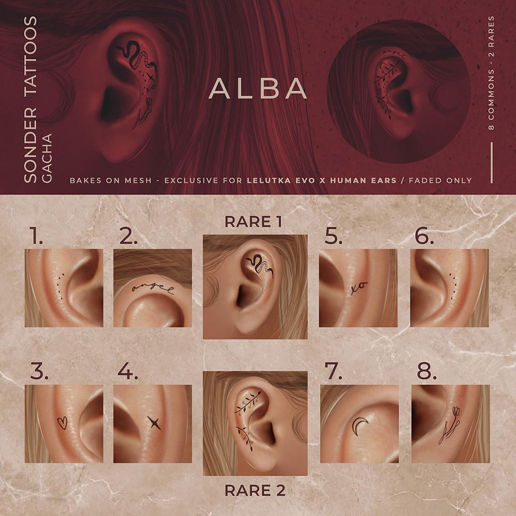 ALBA – Sonder Tattoos Gacha @ Harajuku