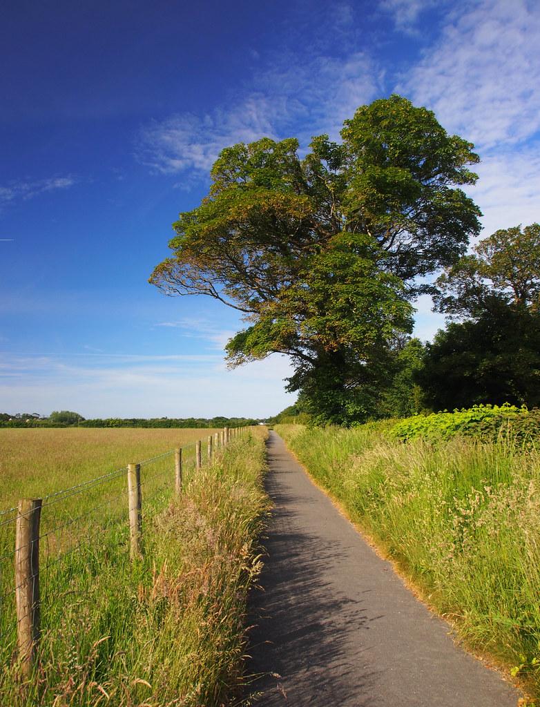 The return path home ...... Bryncrug/Tywyn.
