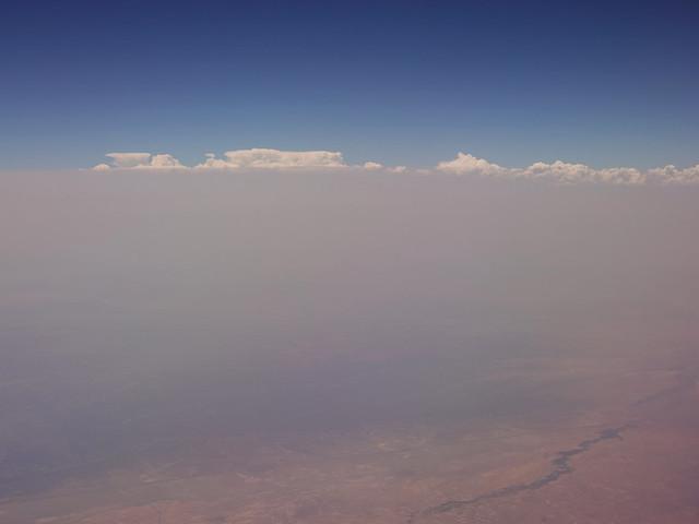 Smoke over Arizona