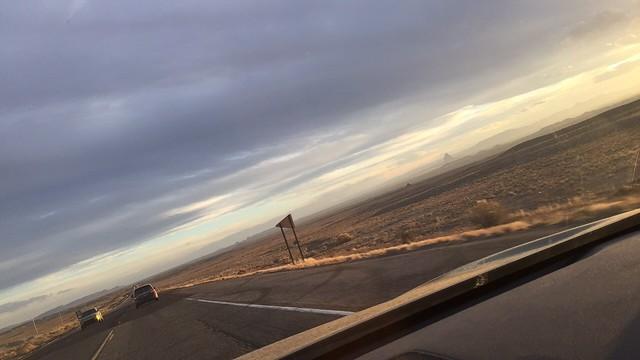 USA Old ROUTE 666 ꞊ Driving Westward @ NM➤AZ