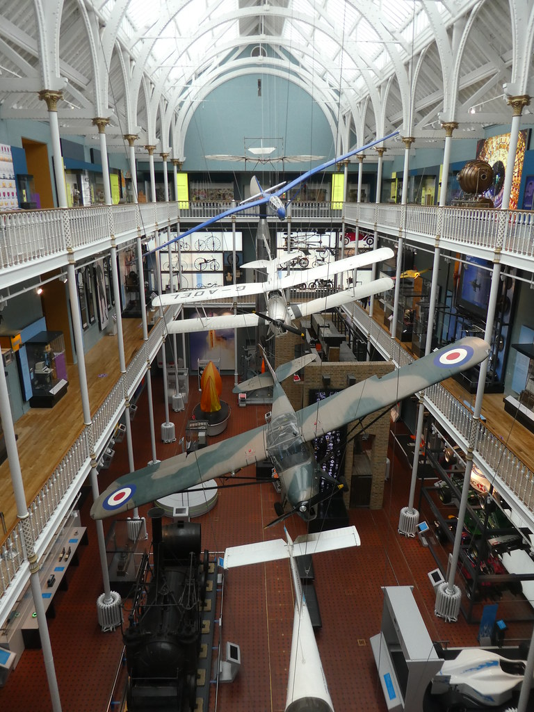 The National Museum of Scotland, Transport Hall