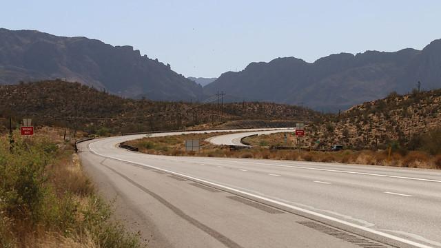 US 60 Near Superior - 8623zC