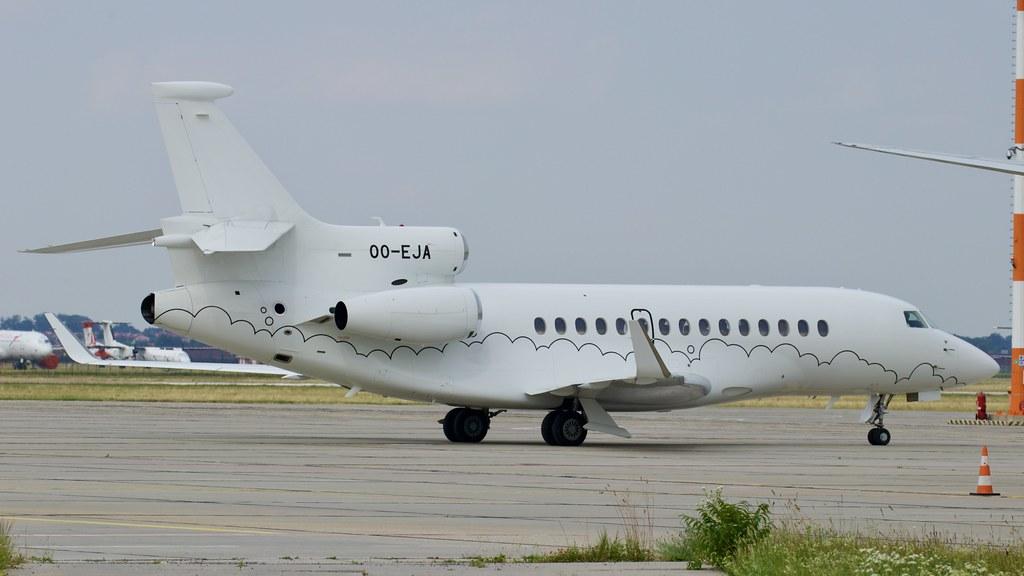 OO-EJA Abelag Aviation Dassault Falcon 7X © P. Marianic