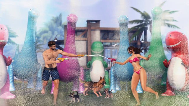 My Korner #603 - Running Thru The Sprinklers!