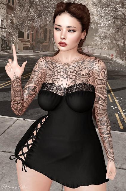 Meva - Letis Tattoo - Secret Poses