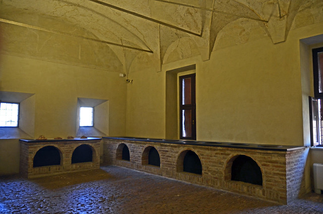 2020.09.14.095 EMILIA-ROMAGNA - FERRARE - Castello Estense - Les cuisines