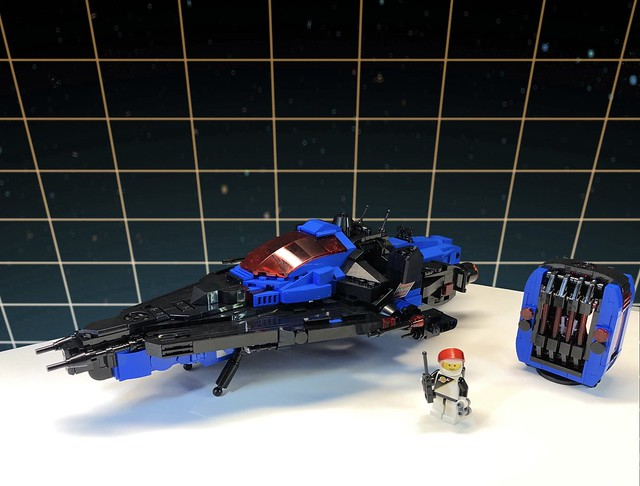 Galactic Peace Keeper (alternate views)