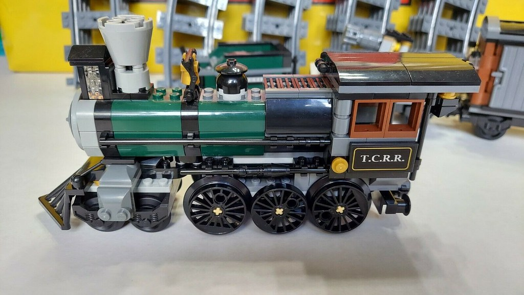 Lego 79111 Disney Lone Ranger Constitution Train 02