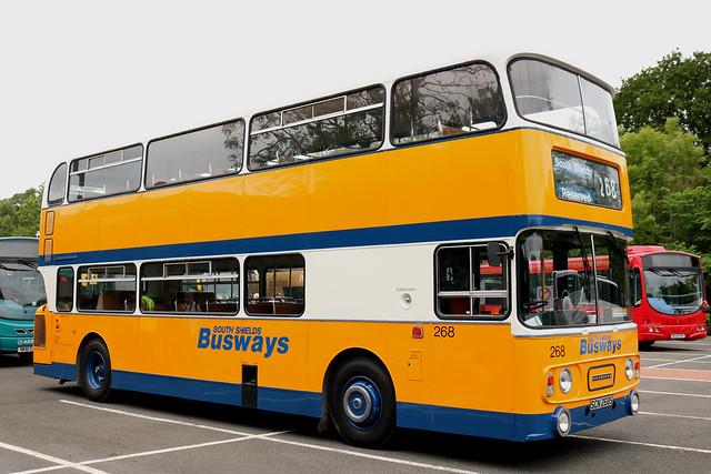 Leyland Atlantean/Alexander: 268 SCN268S South Shields Busways